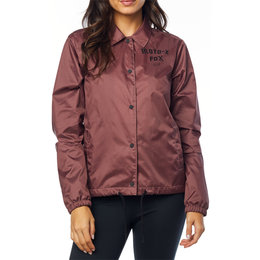 Fox Racing Womens Pit Stop Coaches Jacket Pink