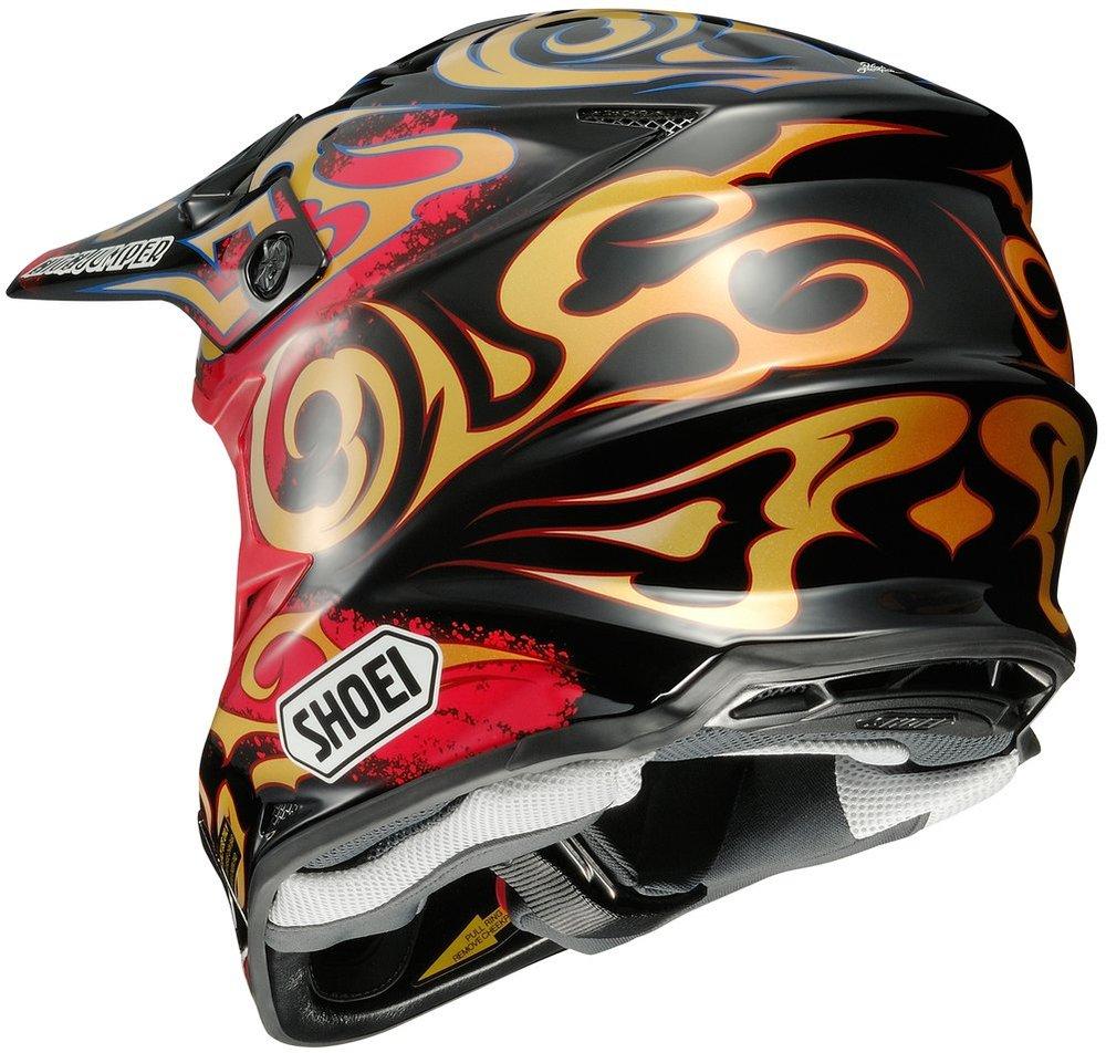 shoei vfx w taka dot approved motocross mx helmet 995208. Black Bedroom Furniture Sets. Home Design Ideas