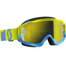 Scott USA Hustle MX Offroad Anti-Fog Goggles Blue