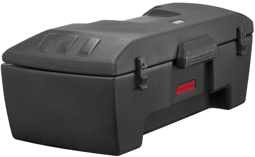 Quadboss Rear Rack Storage Box For ATV Universal Black 643200 Black ...