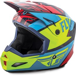 Fly Racing Youth Elite Guild MX Helmet Red