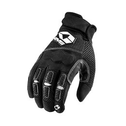 Black Evs Mens Valencia Mesh Gloves 2013