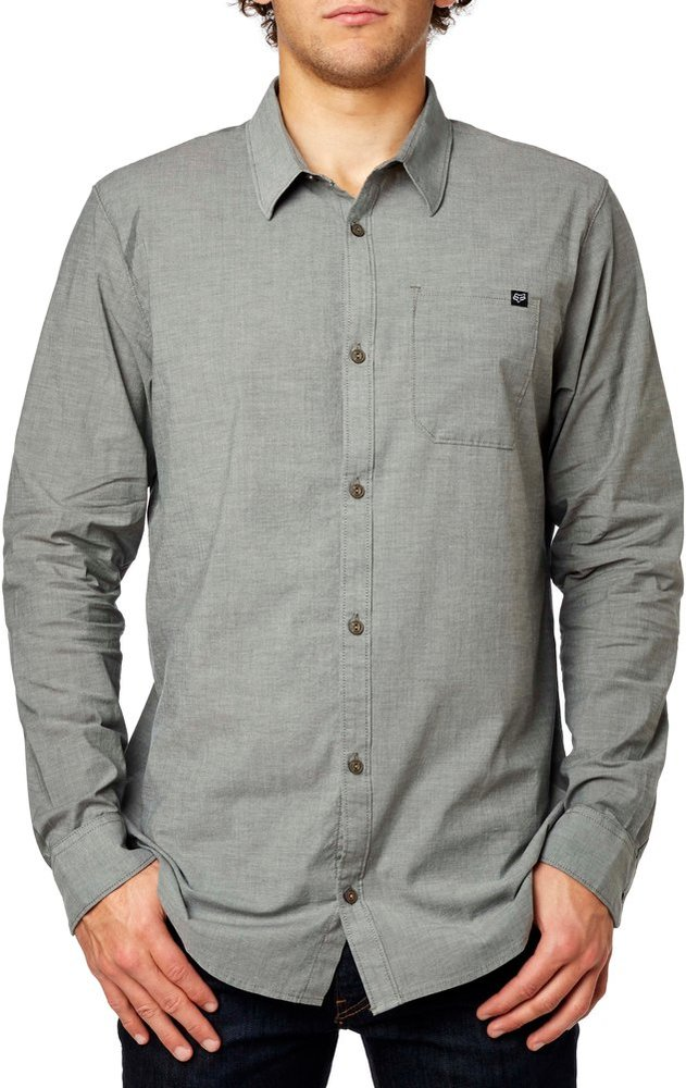 Fox Racing Mens Drips Long Sleeve Button Up Shirt