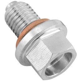 Steel Bikemaster Magnetic Oil Drain Plug 14mm 1.25