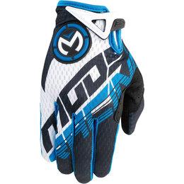 Moose Racing Mens SX1 Mesh Gloves Blue