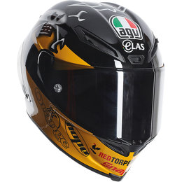 AGV Corsa Guy Martin Replica Full Face Sportbike Helmet Black