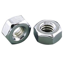Gardner-Westcott Hex Nuts Coarse 5/16-18 ZINC 100 Pack Unpainted