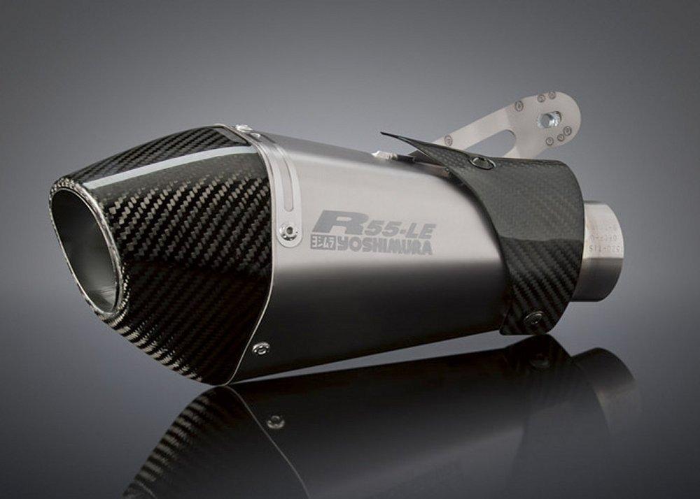 799 00 Yoshimura R 55 Le Slip On Exhaust Titanium Carbon