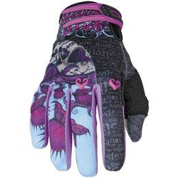 Black, Purple Speed & Strength Womens Wicked Garden Mesh Textile Gloves 2013 Black Purple Sm