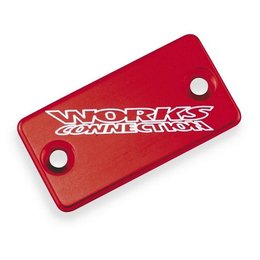 Works Connection Brake Cap Rear Red For Kawasaki Suzuki KLX DRZ RM