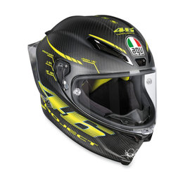 AGV Pista GP R Valentino Rossi Project 46 2.0 Full Face Helmet Black