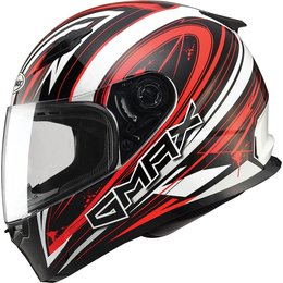 GMax FF49 Warp Full Face Helmet White