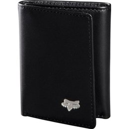 Black Fox Racing Leather Tri-fold Wallet