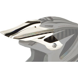 White, Black Fly Racing Replacement Visor For F2 Carbon Split Helmet White Black