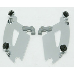 Memphis Shades Bullet Plate Kit Aluminum For Honda VT1300CX Fury