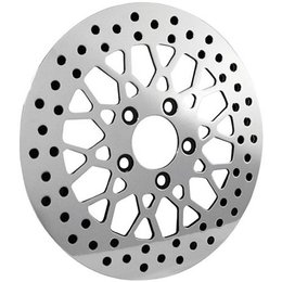 Stainless Steel Bikers Choice Brake Rotor 11.5 Front Mesh For Harley 84-10