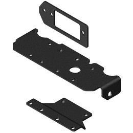 KFI UTV Winch Mounting Kit For KFI/WARN Winches For Honda Black 101285 Black
