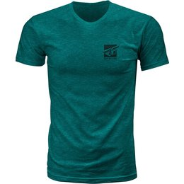 Fly Racing Mens Proper Premium Fit T-Shirt Green