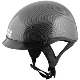 Grey Speed & Strength Mens Ss300 Solid Speed Carbon Fiber Graph Helmet 2014