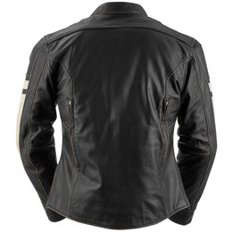 Black Brand Womens Eternity Leather Jacket Black
