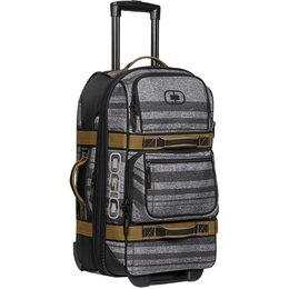 Ogio Layover Travel Bag Rolling Luggage Wheeled Carry-On Bag Grey