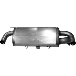 SLP UTV Performance Slip-On Silencer For Polaris 900 RZR XP 2011 09-109 Unpainted
