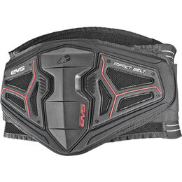 EVS BB04 Impact Protective Kidney Belt Black