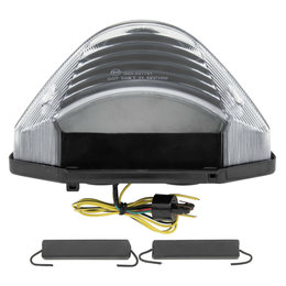 Bikemaster Integrated LED Taillight Clear Lens For Honda TZH-094-INT Transparent