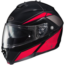 Red Hjc Is-max 2 Ismax2 Elemental Modular Helmet