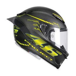 AGV Pista GP R Valentino Rossi Project 46 2.0 Full Face Helmet Black