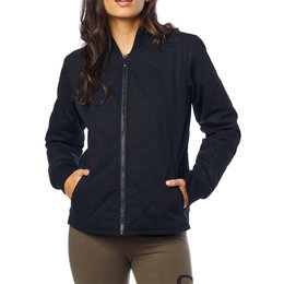 Fox Racing Womens Cosmic Bomber Jacket Black