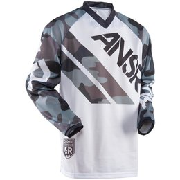 White Camo Answer Mens Mode Vented Jersey 2015