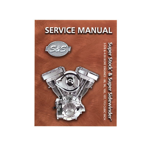 $30.95 S&S Cycle V-Series Service Manual For #252580 on 1987 harley wiring diagram, 1995 harley turn signals, 1995 harley fuel tank, sportster wiring diagram, 1994 harley wiring diagram, 1995 harley seats,