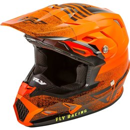 Fly Racing Toxin MIPS Embargo Cold Weather Helmet Orange