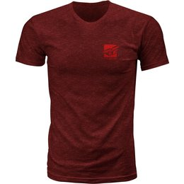 Fly Racing Mens Proper Premium Fit T-Shirt Red