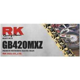 Gold Rk Chain Gb 420 Mxz Heavy-duty 120 Links