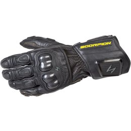 Scorpion SG3 MKII Mens Long Gauntlet Sport Leather Gloves Black