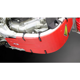 Cycra Skid Plate Speed Armor High Impact Red For Honda CRF250 CRF 250 2004-2009