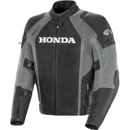Joe Rocket Mens Officially Licensed Honda VFR Armored Textile Jacket Black