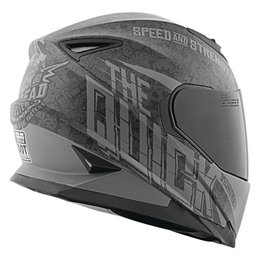 Speed & Strength The Quick And The Dead Full Face Helmet Black
