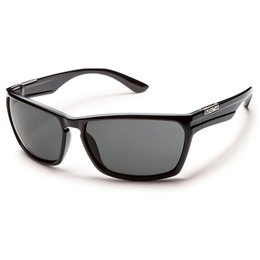Black/grey Suncloud Mens Cutout Sunglasses With Polarized Lens 2014 Black Grey