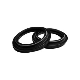 KYB Dust Seal 46mm 2 Pack Black For Honda CR125R/500 Kawasaki Suzuki Yam YZ125