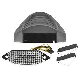 Bikemaster Integrated LED Tail Light Smoke Lens For Honda TZH-094-INT-S Grey