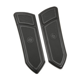 Performance Machine FTZ Driver Floorboards Pair For Harley Black 0036-1008-BM Black