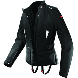 Black Spidi Sport Womens Voyager H2out Textile Jacket 2013