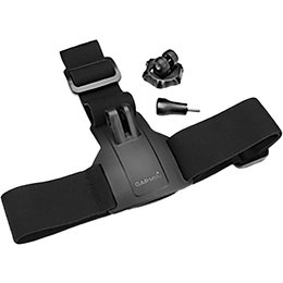 Garmin Head Strap Mount With Ready Clip For The VIRB X Or VIRB XE Camera