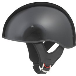 Gloss Black Gmax Mens Gm65 Naked Half Helmet 2013
