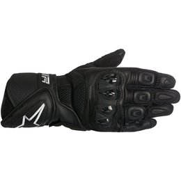 Alpinestars Mens SP Air Touchscreen Leather Gloves Black