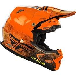Fly Racing Toxin MIPS Embargo Cold Weather Helmet Orange