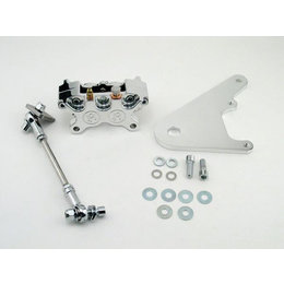 Polished Aluminum Performance Machine Rear Caliper 11.5
